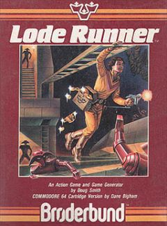 Jaquette de Lode Runner Commodore 64