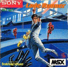 Jaquette de Lode Runner MSX
