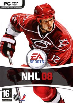 Jaquette de NHL 08 PC
