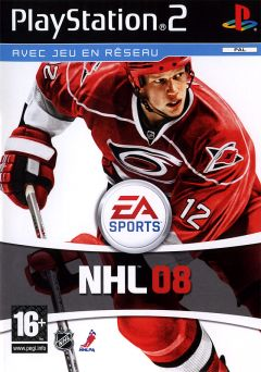 Jaquette de NHL 08 PlayStation 2