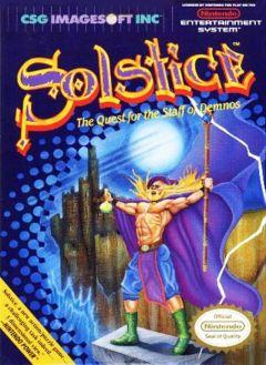 Jaquette de Solstice NES