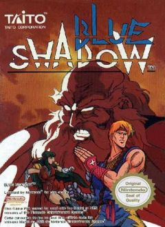 Jaquette de Blue Shadow NES