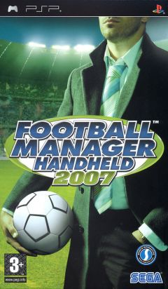 Jaquette de Football Manager 2007 PSP