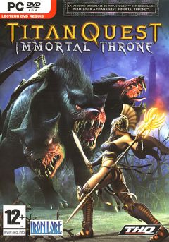 Jaquette de Titan Quest : Immortal Throne PC