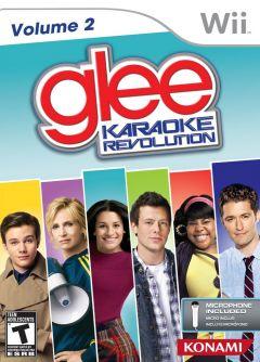 Jaquette de Karaoke Revolution Glee : Volume 2 Wii