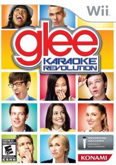 Jaquette de Karaoke Revolution Glee Wii