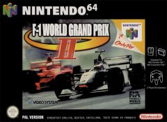 Jaquette de F-1 World Grand Prix II Nintendo 64