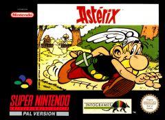 Jaquette de Astérix Super NES