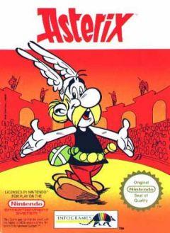 Jaquette de Astérix NES