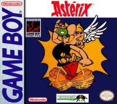 Jaquette de Astérix Game Boy