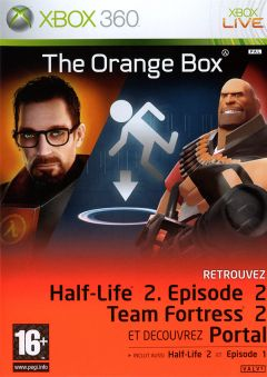 Jaquette de The Orange Box Xbox 360
