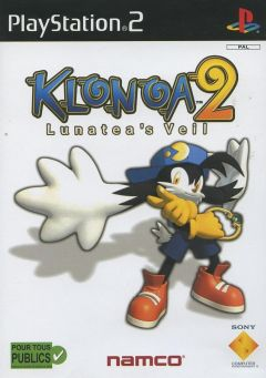 Jaquette de Klonoa 2 PlayStation 2