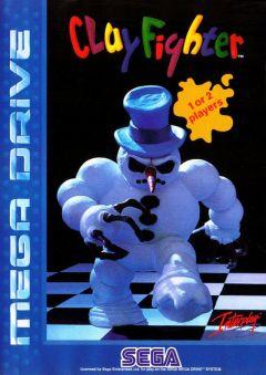 Jaquette de ClayFighter Mega Drive