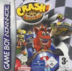 Jaquette de Crash Nitro Kart Game Boy Advance