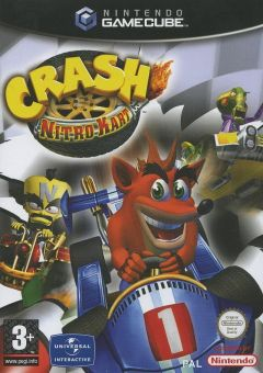 Jaquette de Crash Nitro Kart GameCube