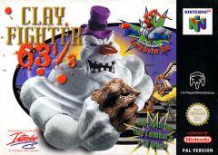 Jaquette de ClayFighter 63 1/3 Nintendo 64