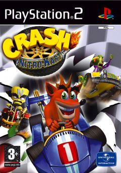 Jaquette de Crash Nitro Kart PlayStation 2
