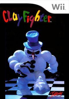 Jaquette de ClayFighter Wii