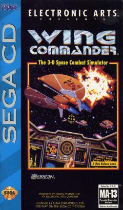 Jaquette de Wing Commander MegaCD