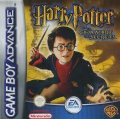 Jaquette de Harry Potter et la Chambre des Secrets Game Boy Advance