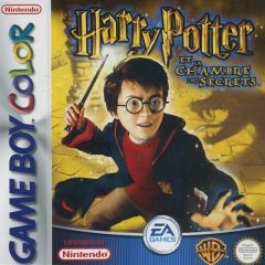Jaquette de Harry Potter et la Chambre des Secrets Game Boy Color