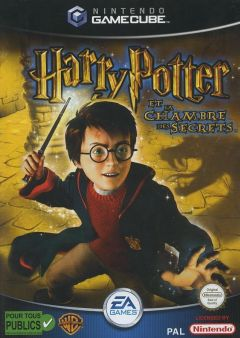 Jaquette de Harry Potter et la Chambre des Secrets GameCube