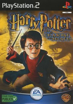Jaquette de Harry Potter et la Chambre des Secrets PlayStation 2