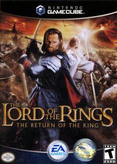 Jaquette de Le Seigneur des Anneaux : Le Retour du Roi GameCube