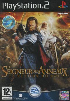 Jaquette de Le Seigneur des Anneaux : Le Retour du Roi PlayStation 2