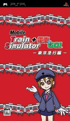 Jaquette de Mobile Train Simulator + Densha de GO ! Tokyo Express Version PSP