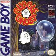 Jaquette de Bubble Ghost Game Boy