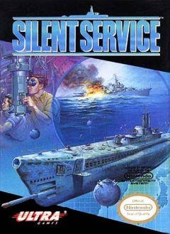 Jaquette de Silent Service NES