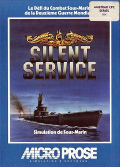 Jaquette de Silent Service Amstrad CPC