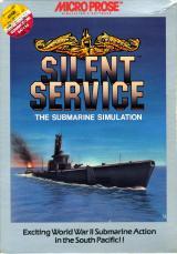 Jaquette de Silent Service Atari 8-Bit