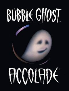 Jaquette de Bubble Ghost Amiga