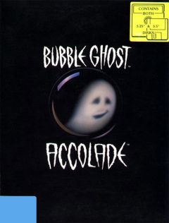 Jaquette de Bubble Ghost PC