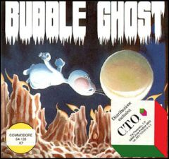 Jaquette de Bubble Ghost Commodore 64