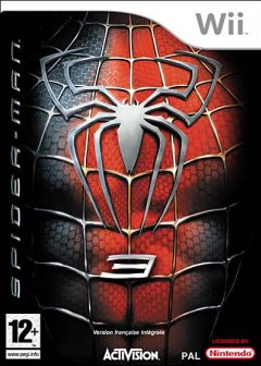 Jaquette de Spider-Man 3 Wii