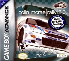 Jaquette de Colin McRae Rally 2.0 Game Boy Advance