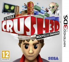 Jaquette de CRUSH3D Nintendo 3DS