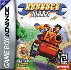 Jaquette de Advance Wars Game Boy Advance