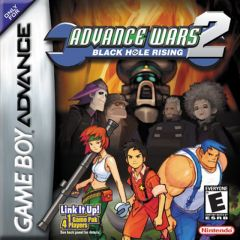 Jaquette de Advance Wars 2 : Black Hole Rising Game Boy Advance