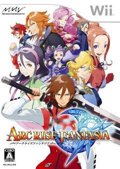 Jaquette de Arc Rise Fantasia Wii