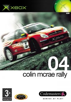 Jaquette de Colin McRae Rally 04 Xbox