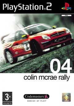 Jaquette de Colin McRae Rally 04 PlayStation 2