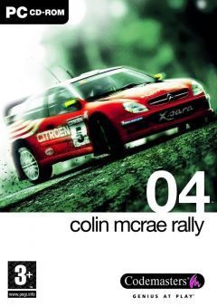 Jaquette de Colin McRae Rally 04 PC