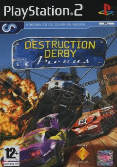 Jaquette de Destruction Derby Arenas PlayStation 2