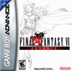 Jaquette de Final Fantasy VI Game Boy Advance