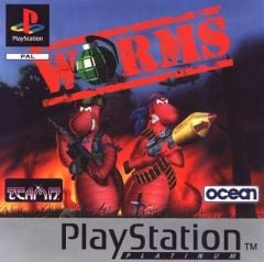 Jaquette de Worms PlayStation