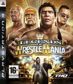 Jaquette de WWE Legends of Wrestlemania PlayStation 3